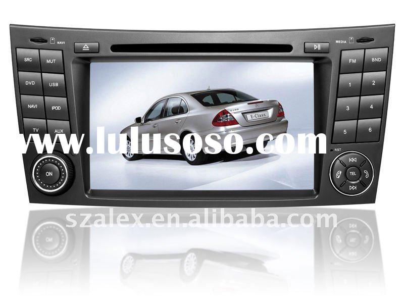 mercedes navigation car multimedia player with car radio gps tracker dvd bluetooth for w211