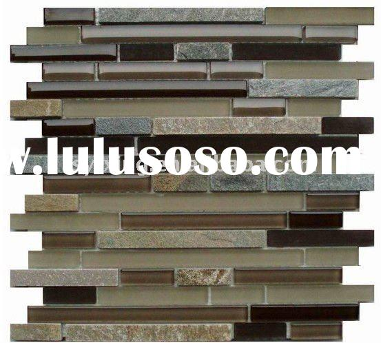 modern and fashion glass stone mosaic tile
