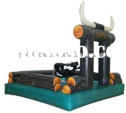 new design inflatable bull ride for rent