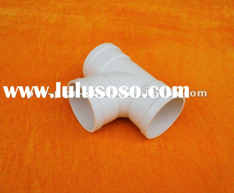 plastic pvc sanitary pipe fittings/equal tee /sweep tee for connecting water pipe