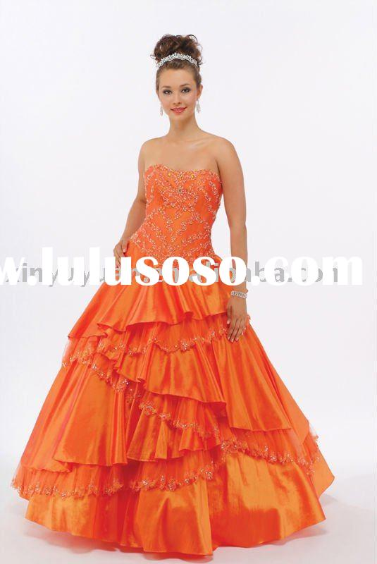 plus size hot sale 2011 summer quinceanera dresses BOQ-032