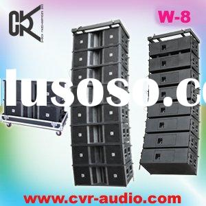 pro touring sound system line array speakers