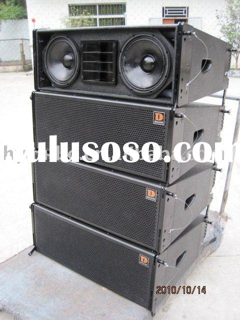 "professional line array(DS208 )Dual 8""line array system"