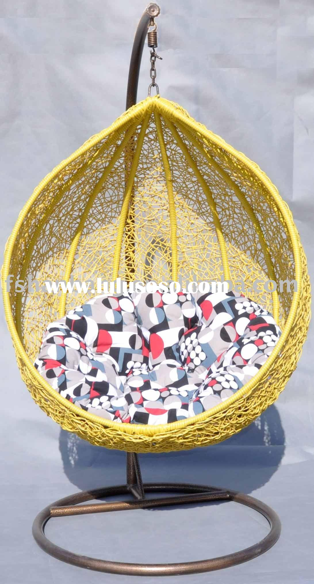 Papasan Rattan Hanging Swing Chair Papasan Rattan Hanging