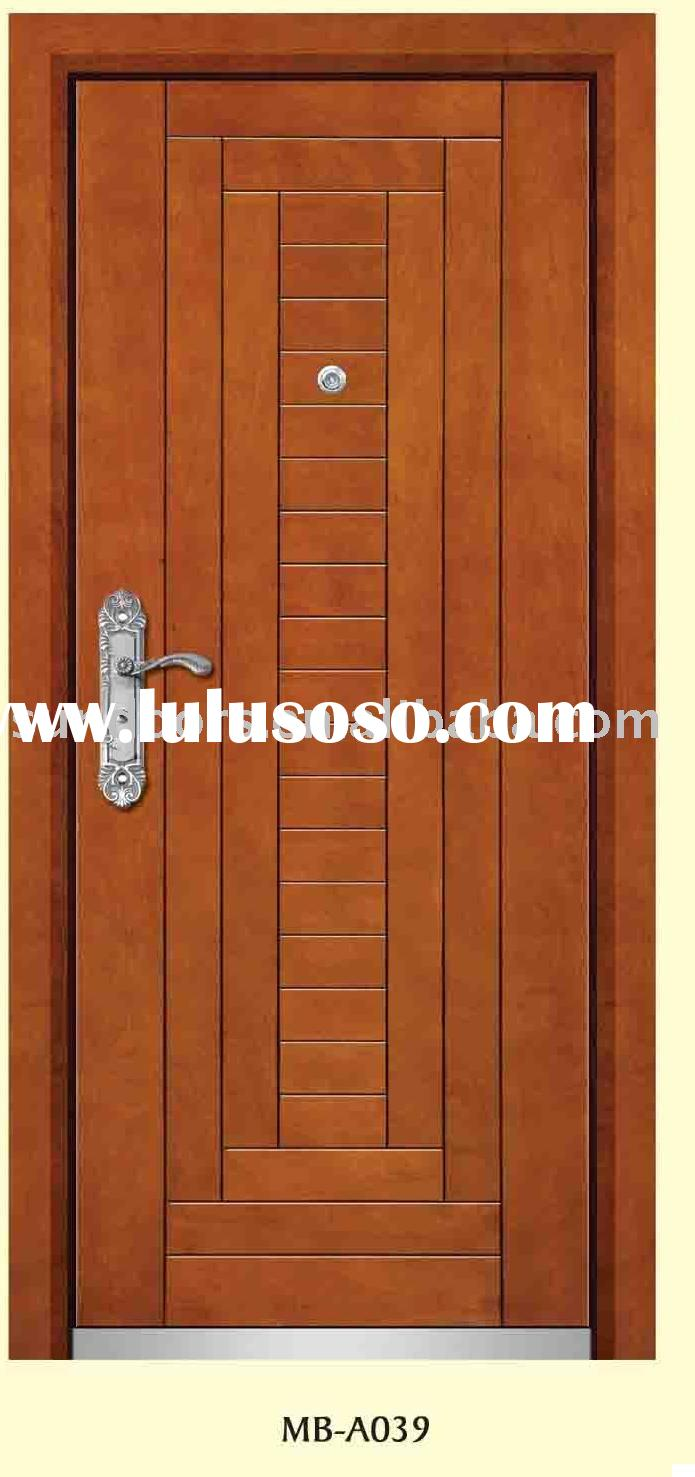 steel wood armored door,steel wood door, armored door