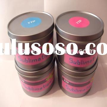 sublimation transfer ink used on offset machine