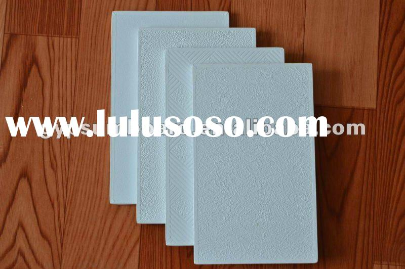 vinyl plaster laminated board with aluminum foil and tape