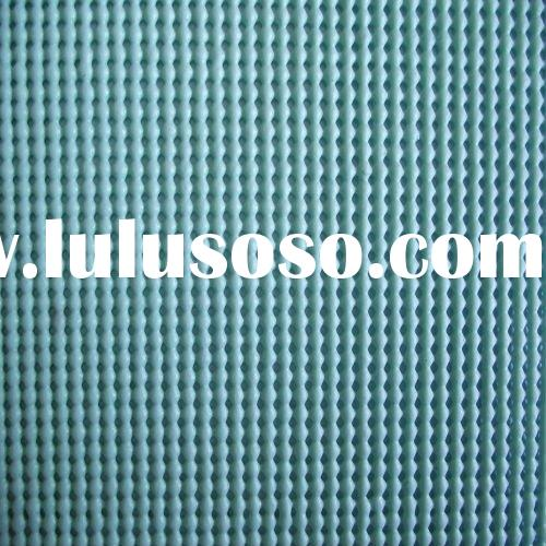 waterproof PVC coated polyester mesh fabric for gym