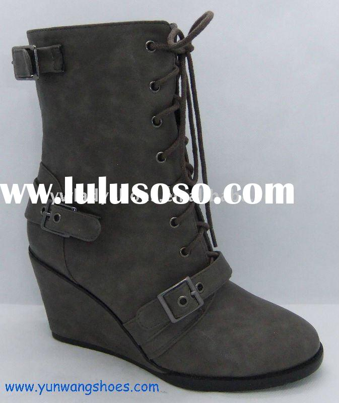 women high heel boot just come out and hot selling lady shoes 2012