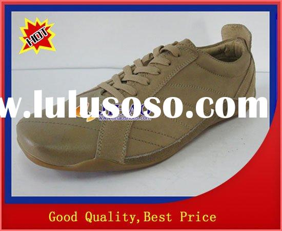 100% cow leather new men's dress shoes