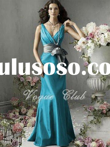 2011 New Bridesmaid Evening Party Ball Wedding Dress/Gown S052