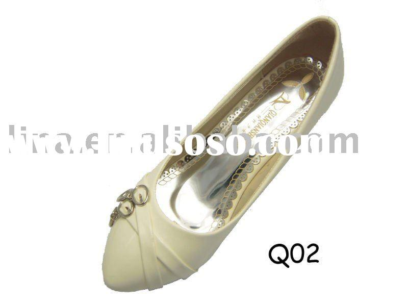 2011 fashionable and comfortable low heel women dress shoes
