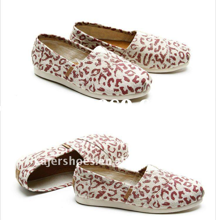 2011 high quality with lowest price stylish lady canvas shoes