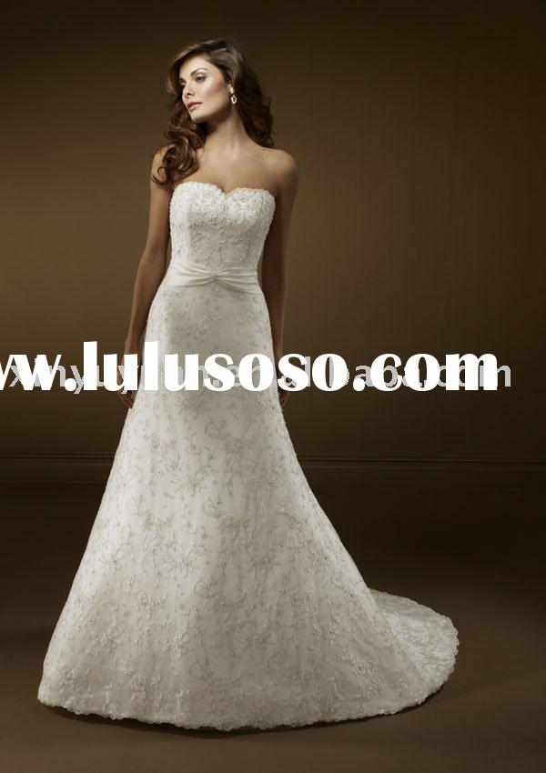 Wholesale silver wedding dresses wholesale silver wedding for Silver wedding dresses for sale