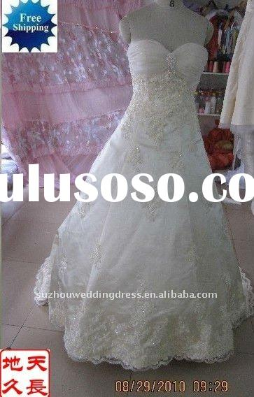 2011 new fashion wedding gowns and bridal dress SH19