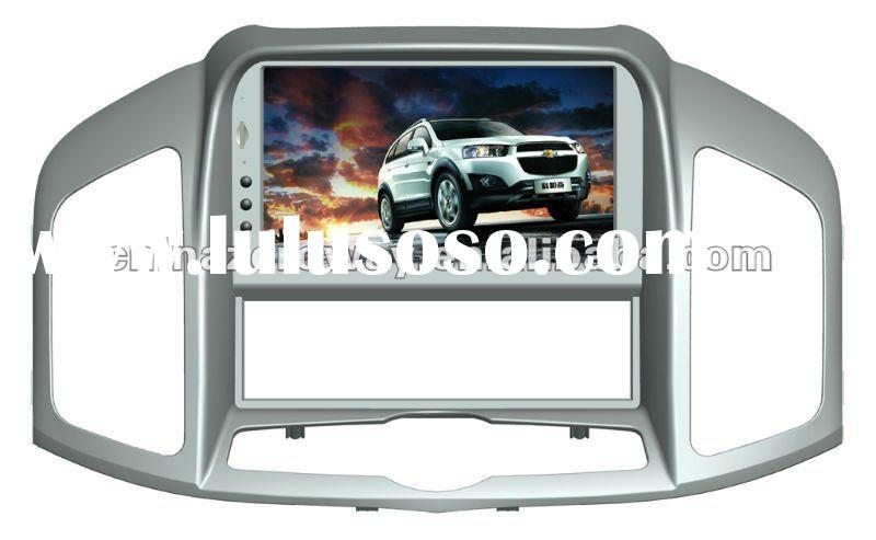 2012 HD touch screen car gps with radio and hifi music in wince 6.0 system for Chevroler Captiva