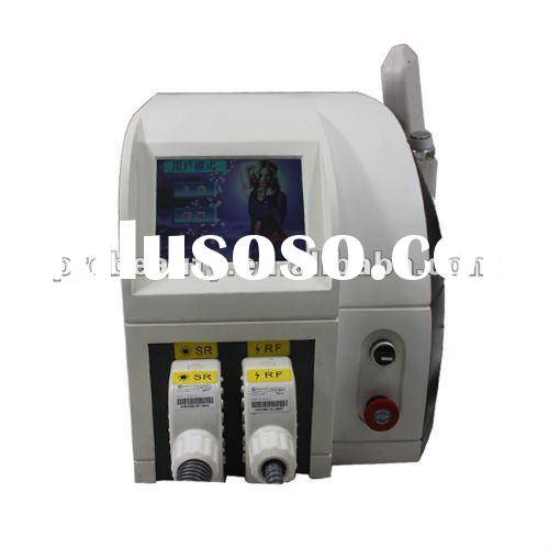 2012 New IPL RF hair removal equipment for firm skin facial lifting Red blood streak