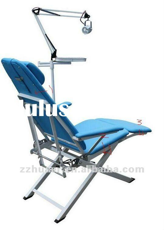 2012 Newest Comfortable Portable Dental Chair with operating light
