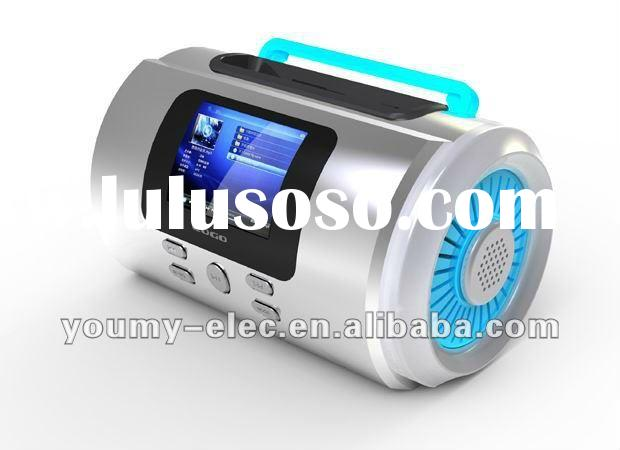 2012 Popular Mini Speaker Sports MP3 Player Sound box Boombox with Micro SD/TF card reader + FM fuct