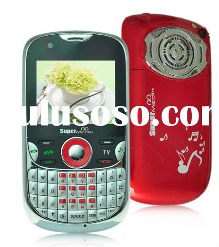 2012 Quad Band GSM 3 SIM TV Mobile Phones Q11 Super Loud Speaker (accept paypal)