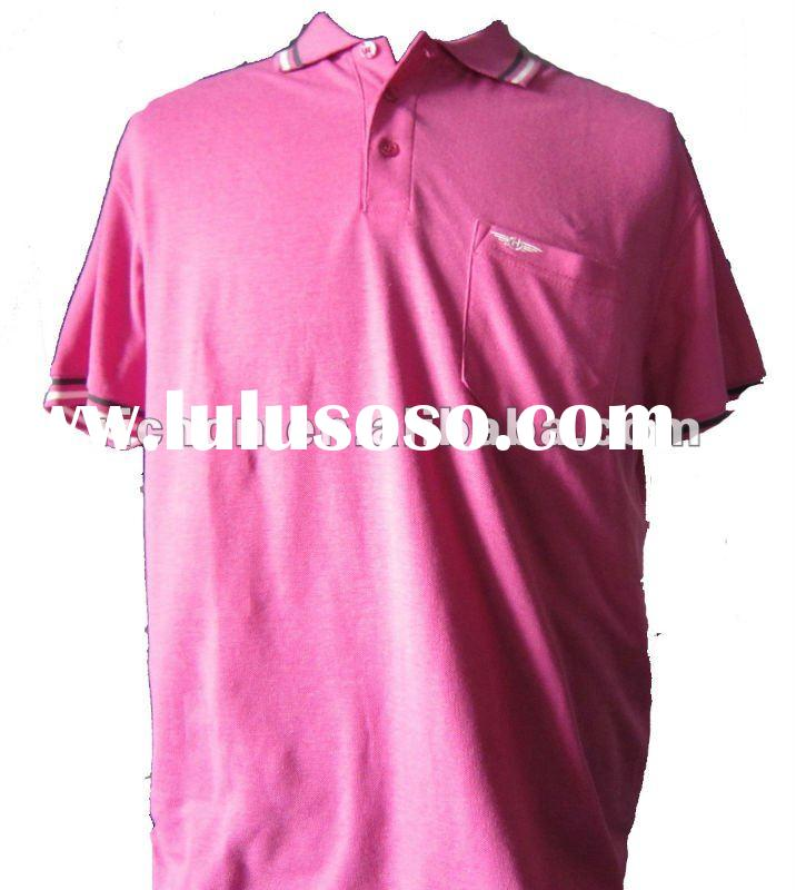 2012 casual polyester cotton polo t-shirt