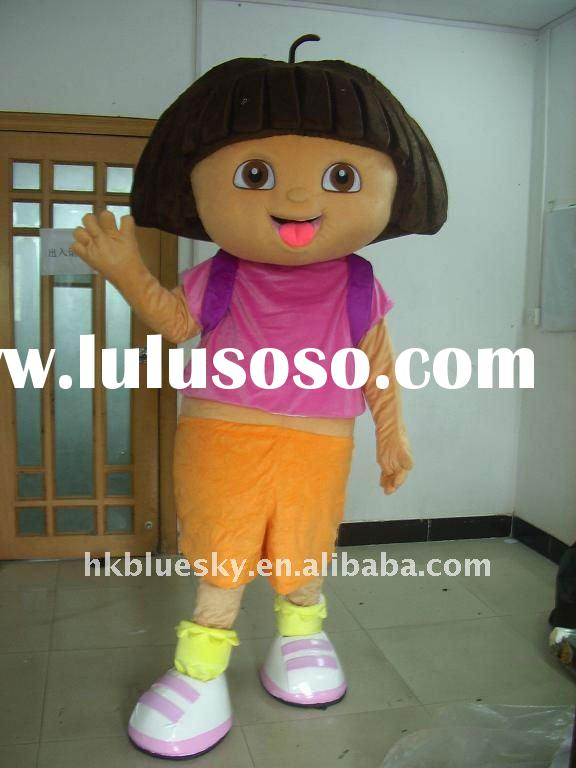 2012 dora the explorer movie cartoon mascot costume