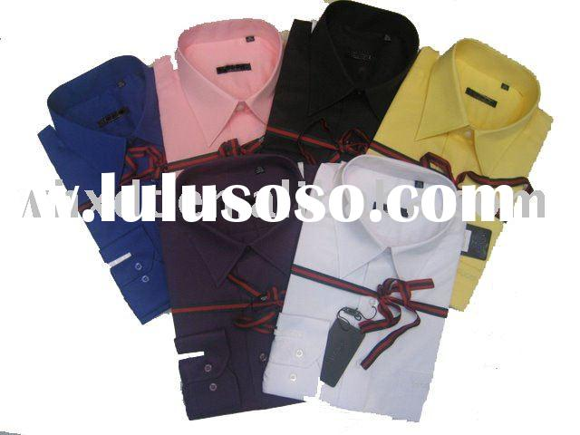 2012 fashion designer dress shirts for men