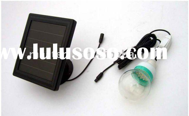2012 hot! 1W solar panel kits for home, led solar light kits