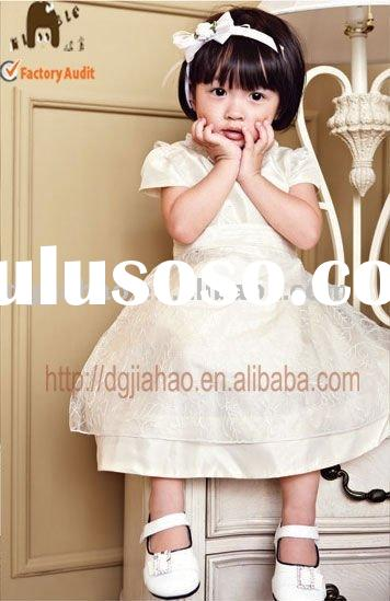 2012 summer new fashion and the best selling satin kid dress