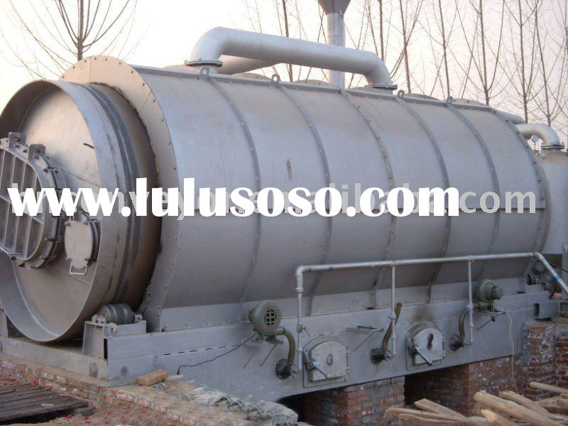 20tons ~25tons JZJ-1258 Waste rubber processing oil equipment