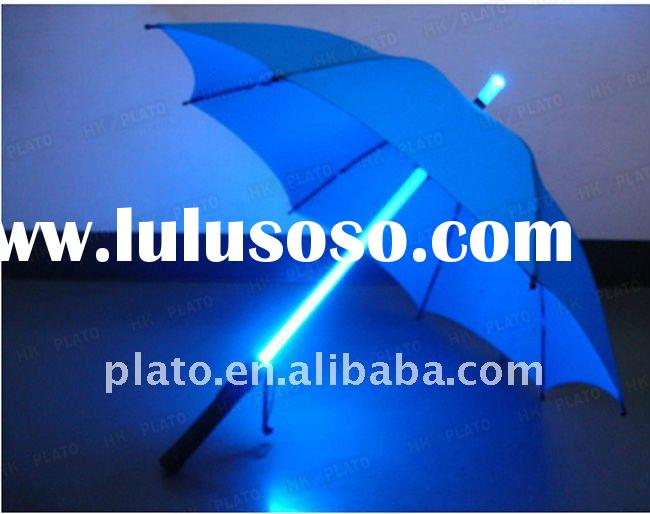 24'' *8K straight pole light changing led umbrella