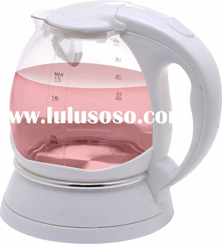 360 rotary plastic Cordless electric kettle