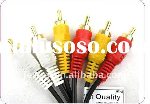 3RCA to 3 RCA Audio Video cable