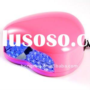 3W LED UV Gel Cure Nail Art Lamp Light Dryer PINK HN992