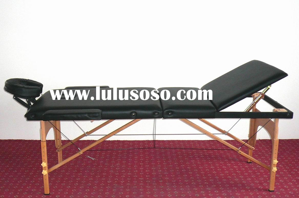 3-Section Portable Wood Massage Table
