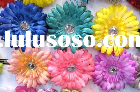 4 inch Gerber Daisy Flower Clip/hair accessory HYL06755