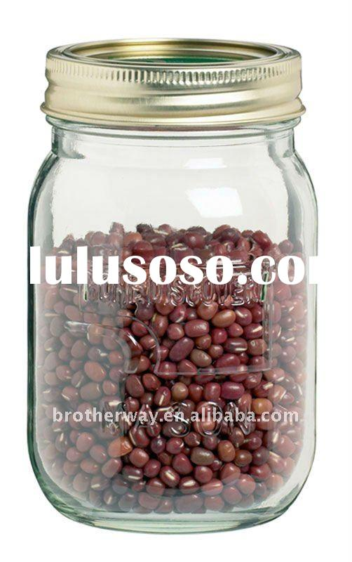 500ml mason jar with metal cap