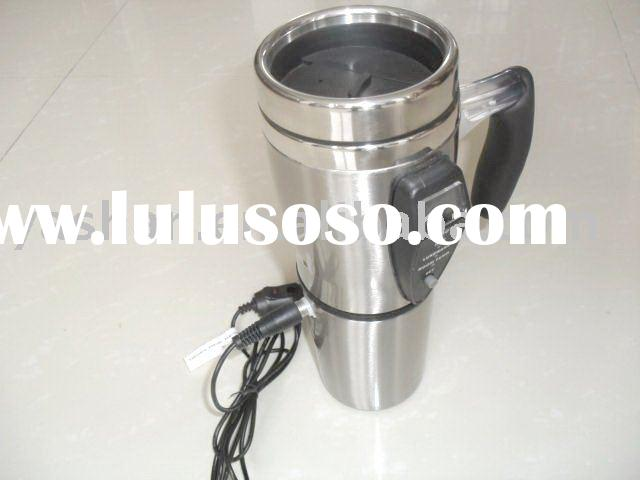 500ml promotion double stainless steel auto mug cup