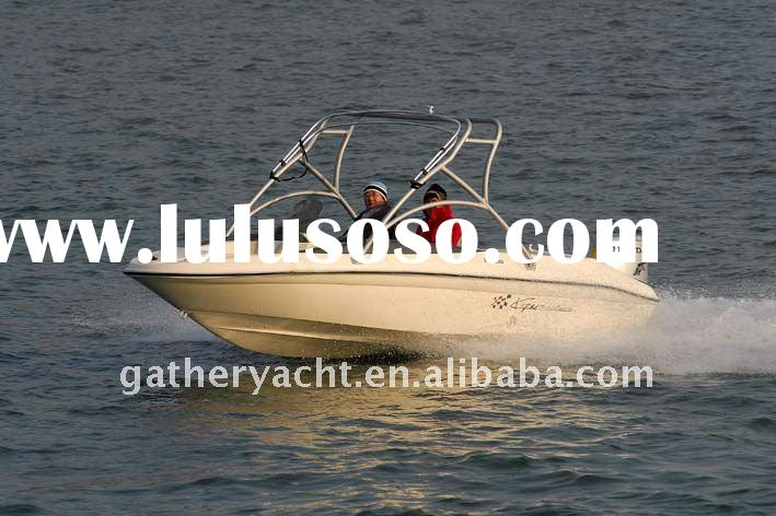 60hp YAMAHA engine-- High Speed Boat for water skiing .5m family boat