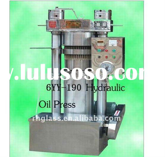 6YY 190 automatic hydraulic oil press/oil expeller for olive fruit oil