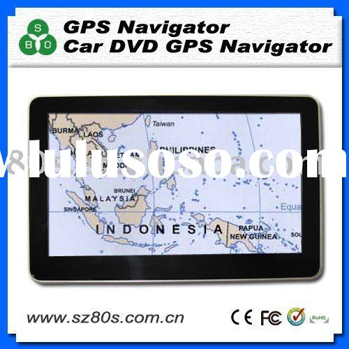 7.0 inch gps navigation with free Singapore, Malaysia, Thailand, Indonesia, Philippines, Vietnam map
