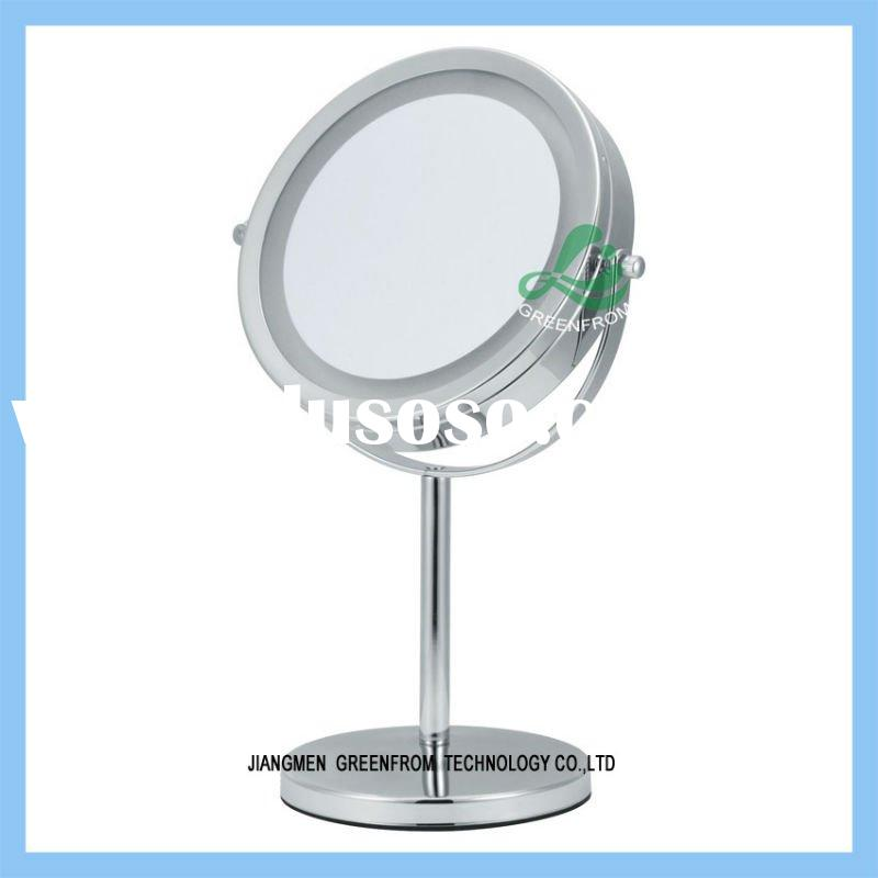 7 inch double side table makeup mirror lighting