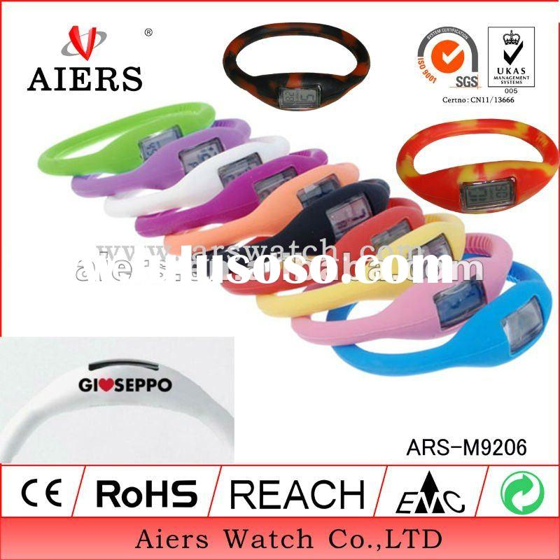 ARS-M9206 various color for choice of Fashion Silicone bracelet Watch