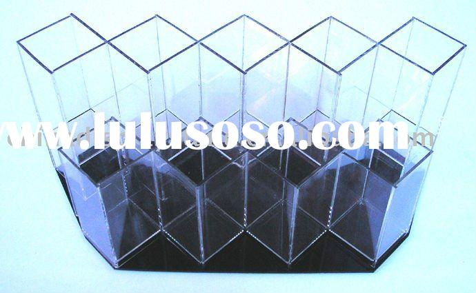 Acrylic Cosmetic/Brush Display Stand