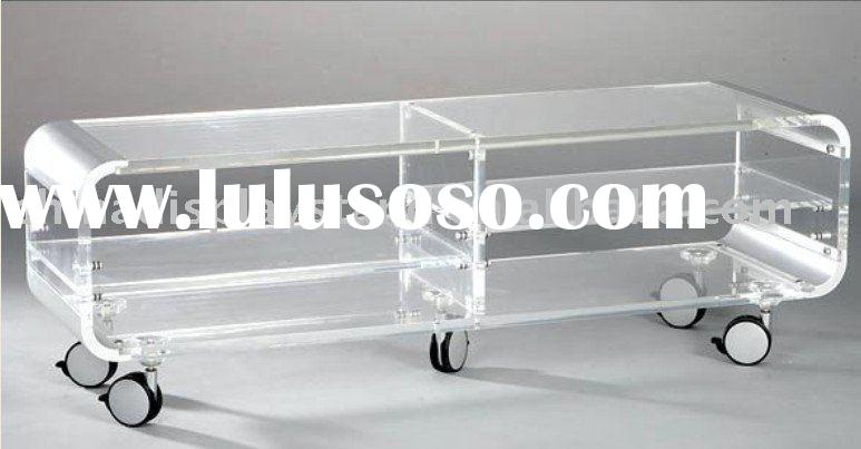 Acrylic TV Stand, Acrylic TV Table