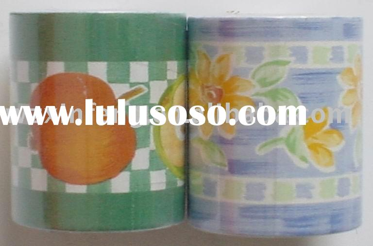 Border self adhesive film/foil