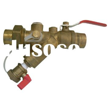 Brass Ball Valve with Y-Strainer