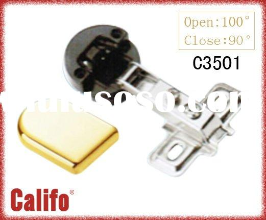 C3501 26mm open-cup furniture plastic glass higne & kitchen glass hinge & cabinet door hinge