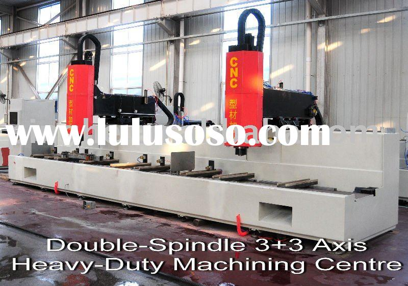 CNC Heavy-Duty Machining Center(3+3-Axis)with Double Head for Aluminium