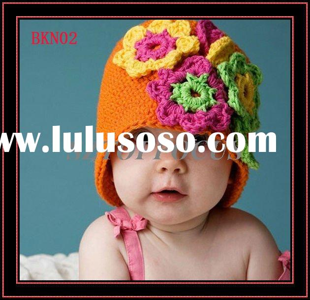 CROCHET BABY BEANIE HAT KNITTING PATTERN